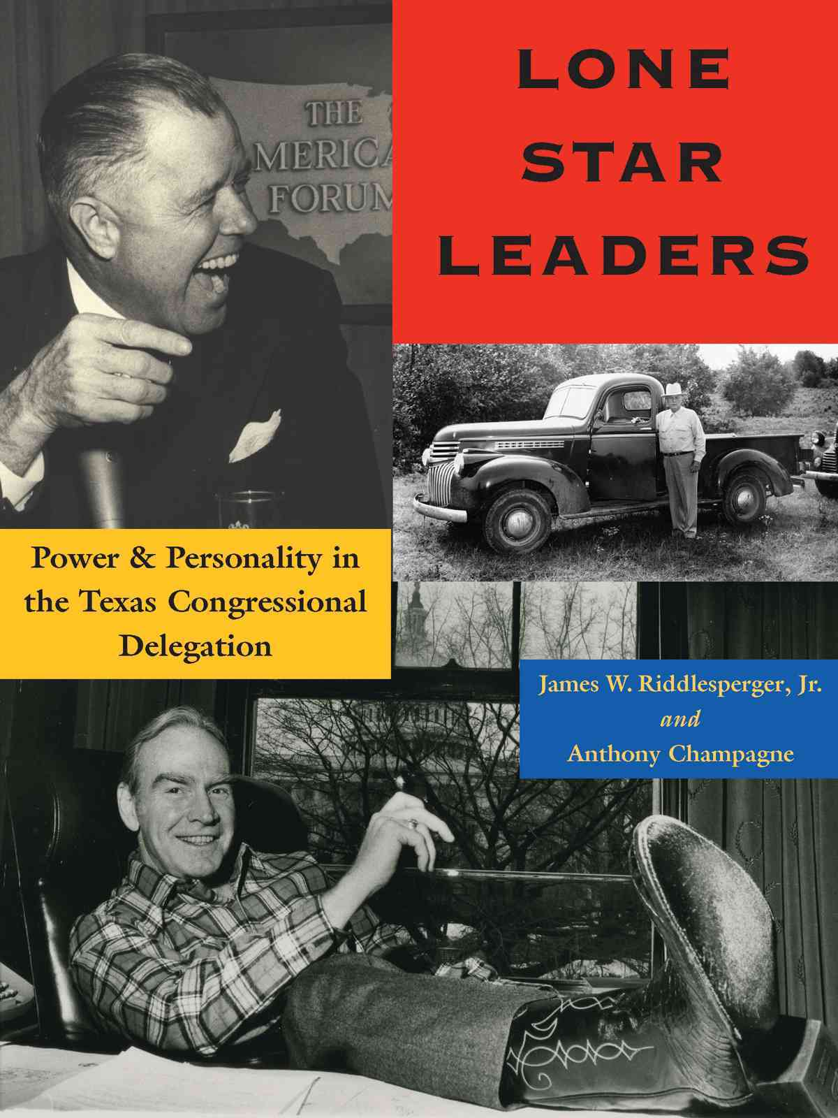 Lone Star Leaders By Riddlesperger, James W., Jr./ Champagne, Anthony